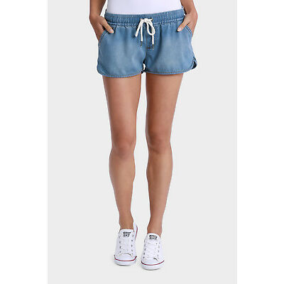 NEW All About Eve Lounge Short Denim