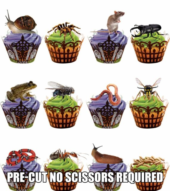 30 Cats Kittens Decorations Edible Stand Up Wafer Cake Wafers Cupcake Toppers