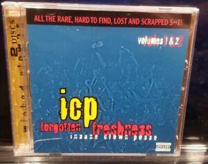 Insane Clown Posse - Forgotten Freshness 1 & 2 CD 2005 psychopathic records icp