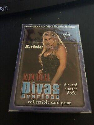 Sable Divas Overload Brand New /& Sealed WWE Raw Deal Starter Deck