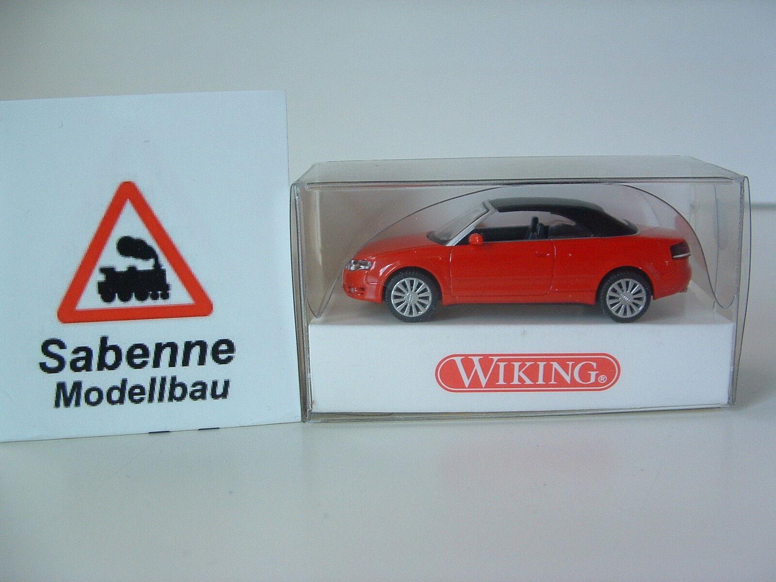 Wiking 132 38 30  H0 1 87 AUDI A4 Cabrio NEU EVP B617