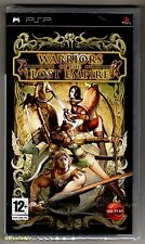 PSP Warriors Of The Lost Empire (2005), UK Pal, Brand New Sony Factory Sealed