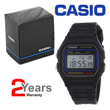 CASIO W59-1V Gents-Mens Digital Calendar Sports Black Plastic Strap Watch