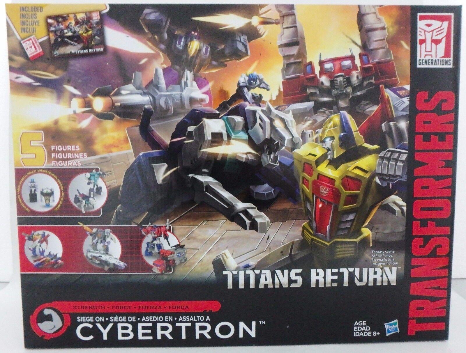 Transformers Generations Titans retour  Siège sur Cybertron .