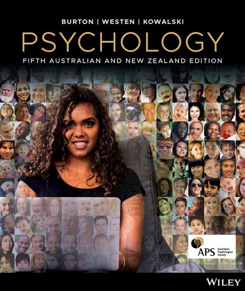 NEW - Fast to AUS - Psychology by Burton (5 Ed + Access Code) - 9780730363262