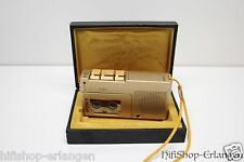 Sony M-9G GOLD limited edition Handheld Microcassette Analog Voice Recorder TOP