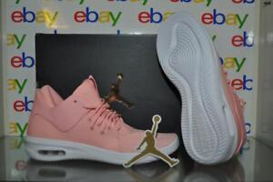 03964d23ff72 Air Jordan AJ7317 600 Girls First Class Off-Court Basketball Shoes ...