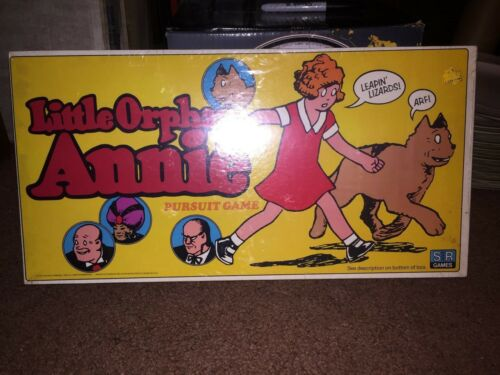 1978 LITTLE ORPHAN ANNIE PURSUIT GAME SEALED
