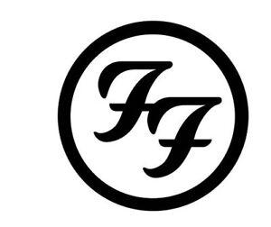 Foo Fighters band sticker logo vinyl. | eBay  Foo Fighters ba...