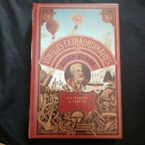 Jules Verne:La maison à vapeur tome 1 Edition  Bellerive Genève