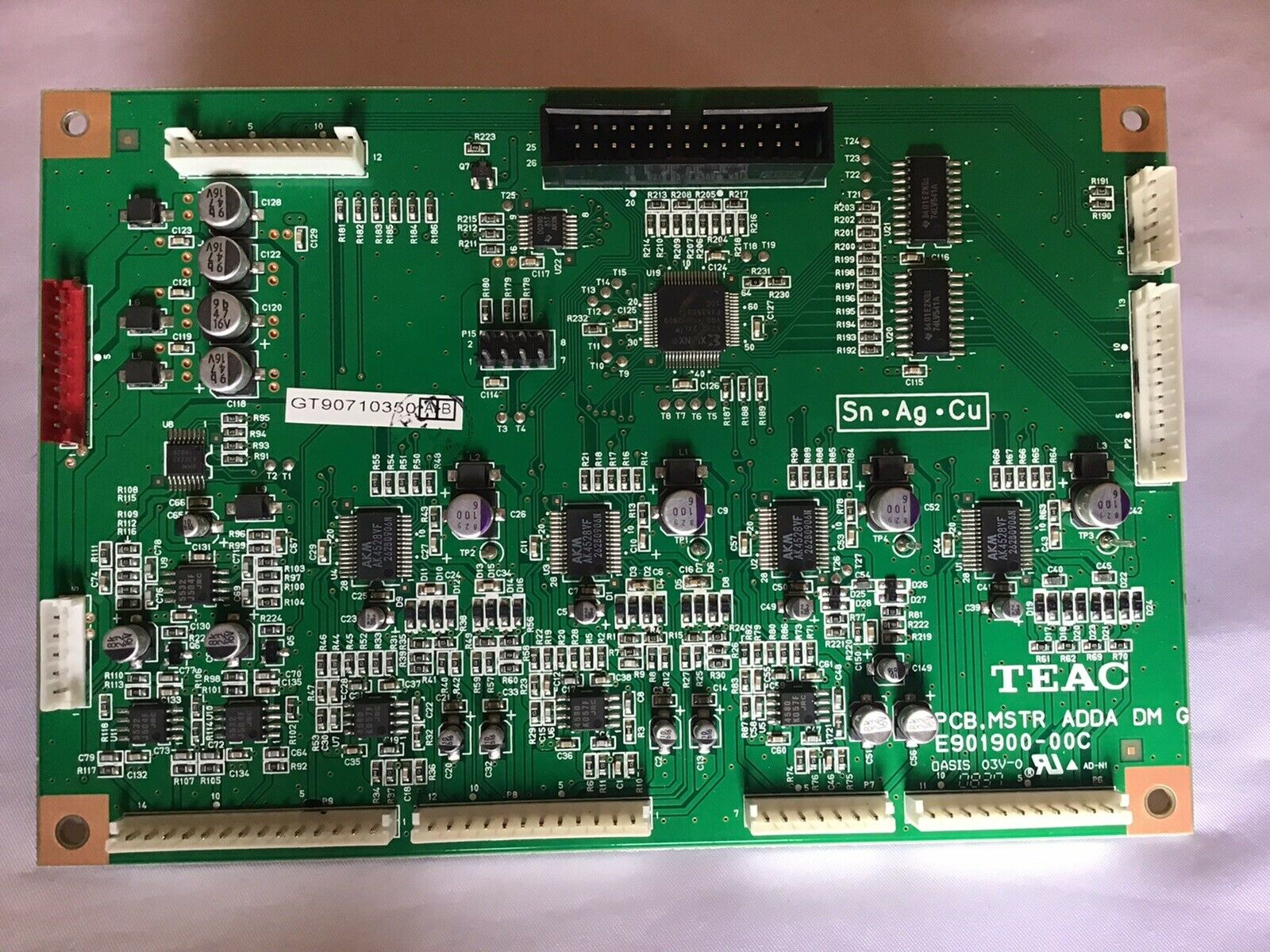 TASCAM DM 4800 PCB,MSTR ADDA DM Board Assembly, E901900-00C.