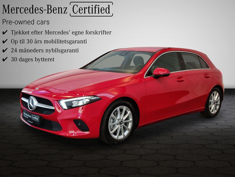 Mercedes A200 d 2,0 Progressive Line aut. 5d - 334.800 kr.
