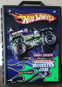 Hot Wheels Monster Jam Truck Carrying Case  FREE SHIPPING - Arlington, Texas, United States - Hot Wheels Monster Jam Truck Carrying Case  FREE SHIPPING - Arlington, Texas, United States