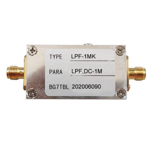 1M RF Low Pass Filter LPF Filter Ham Radio Low Pass Filter Module 50 OHM SMA#TOP