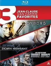 Cyborg/Death Warrant/Double Impact (Blu-ray Disc, 2014, 3-Disc Set)
