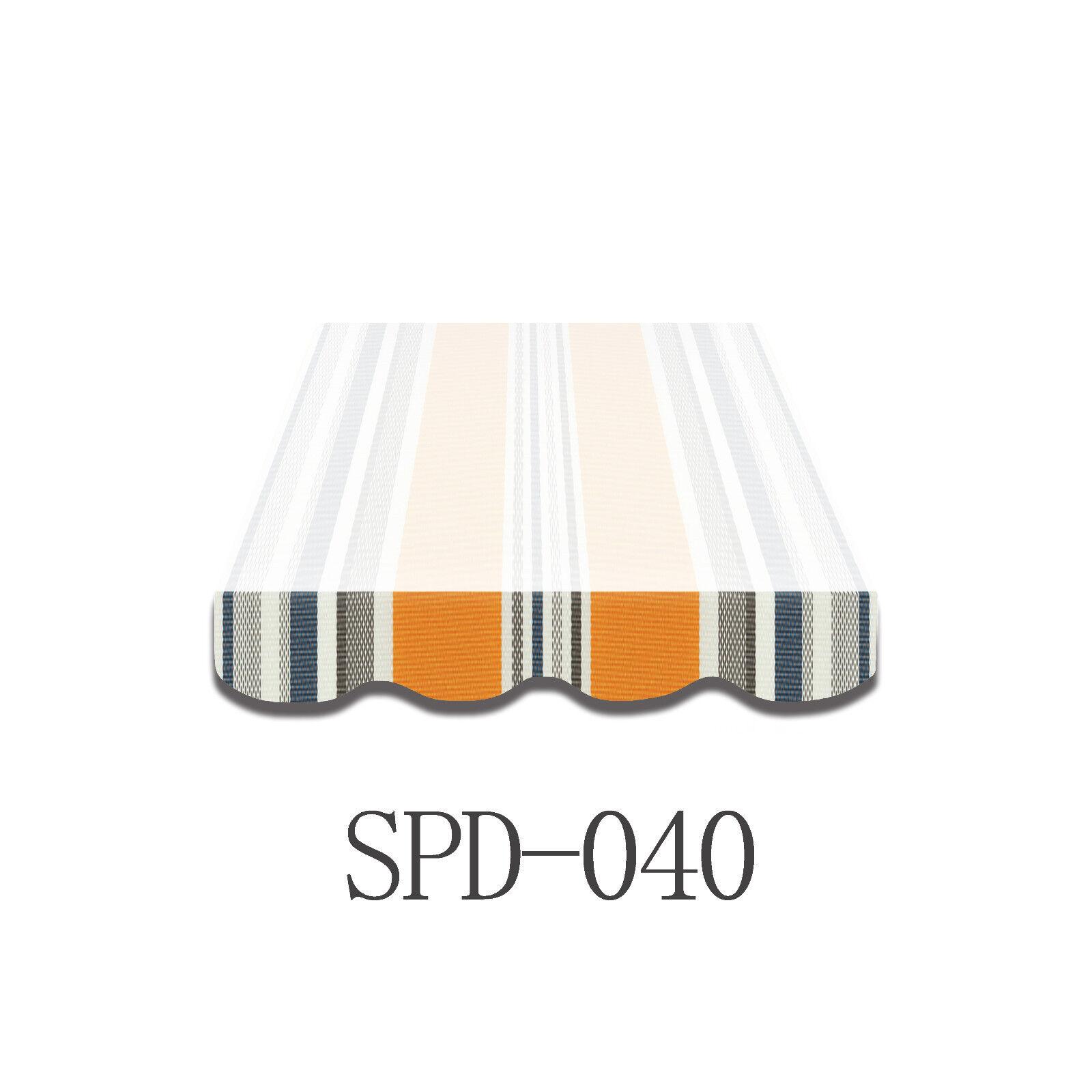 Volant Markisen Markisenbespannung Ersatzstoff Markise 5m Neu NUR VOLANT SPD040