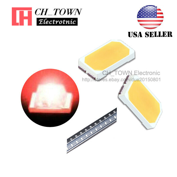 100PCS SMD SMT 5730 Red Light LED Diodes High Quality Ultra Bright Lamp