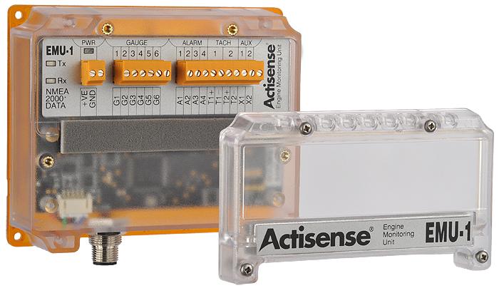 ACTISENSE Gateway EMU-1-BAS Gateway ACTISENSE Motor Überwachungseinheit NMEA2000 e12c34
