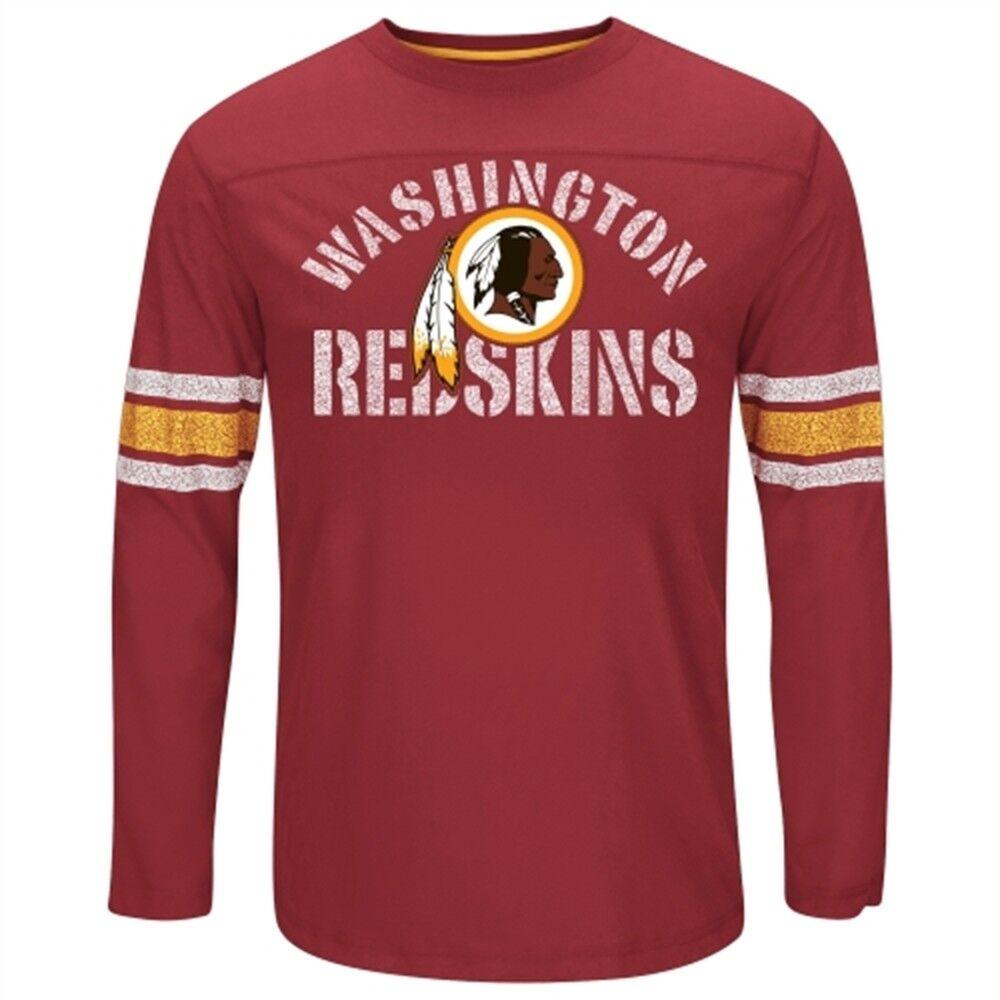 NFL Longsleeve Shirt Washington rotskins Football Football Football CornerBlitz rot Langarm LS   Bekannt für seine hervorragende Qualität  a903b3