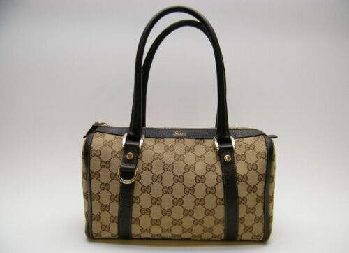 GUCCI GG MONOGRAM brown mini DOCTOR BOSTON HAND B… - image 1
