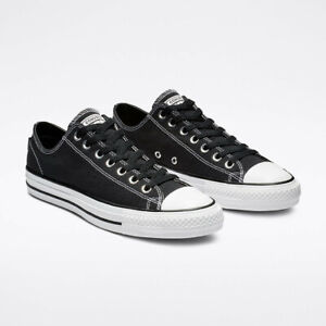 Cons Shoes CTAS PRO Low Canvas Black White Converse Skateboard Sneakers