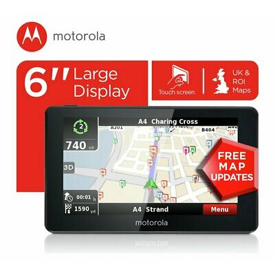 Motorola 6 Inch Sat Nav UK & ROI - Free 90 Day Guarantee