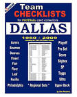 Team Checklists for Football Card Collectors Dallas by Dan Neubert (Paperback / softback, 2010)