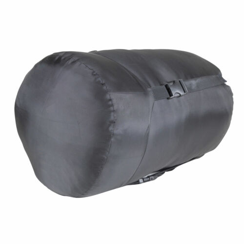 Green 2 Tone Kamp-Rite 33 x 75 Inch Mummy Style Rip Stop Sleeping Bag 40 Degree