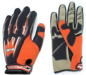 Guanti-per-moto-da-cross-bmx-arancio-arancione-ktm-L-XL-2XL
