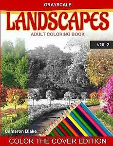 Grayscale Landscapes Adult Coloring Book Grayscale Landscapes Adult