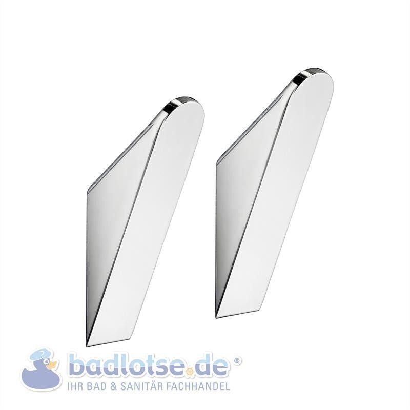 SMEDBO LIFE Handtuch-Haken 2 Stk Einzelhaken chrom glänzend GK201 | Fuxin
