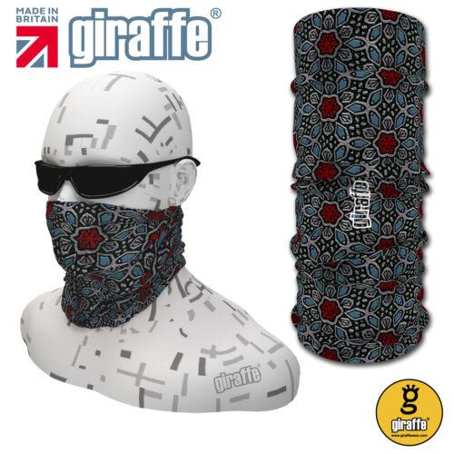 G431 Glass Multifunctional Headwear Neckwarmer Snood Scarf Bandana Headband