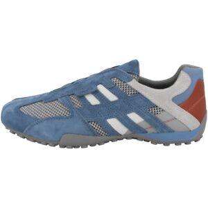 Details zu GEOX U Snake F Schuhe Herren Sneaker Halbschuhe Slipper avio U8207F02214C4453