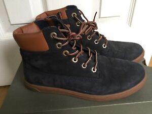 Details about Timberland Earthkeepers EK Groveton Leather Chukka Juniors Boots Kids 6093B D65