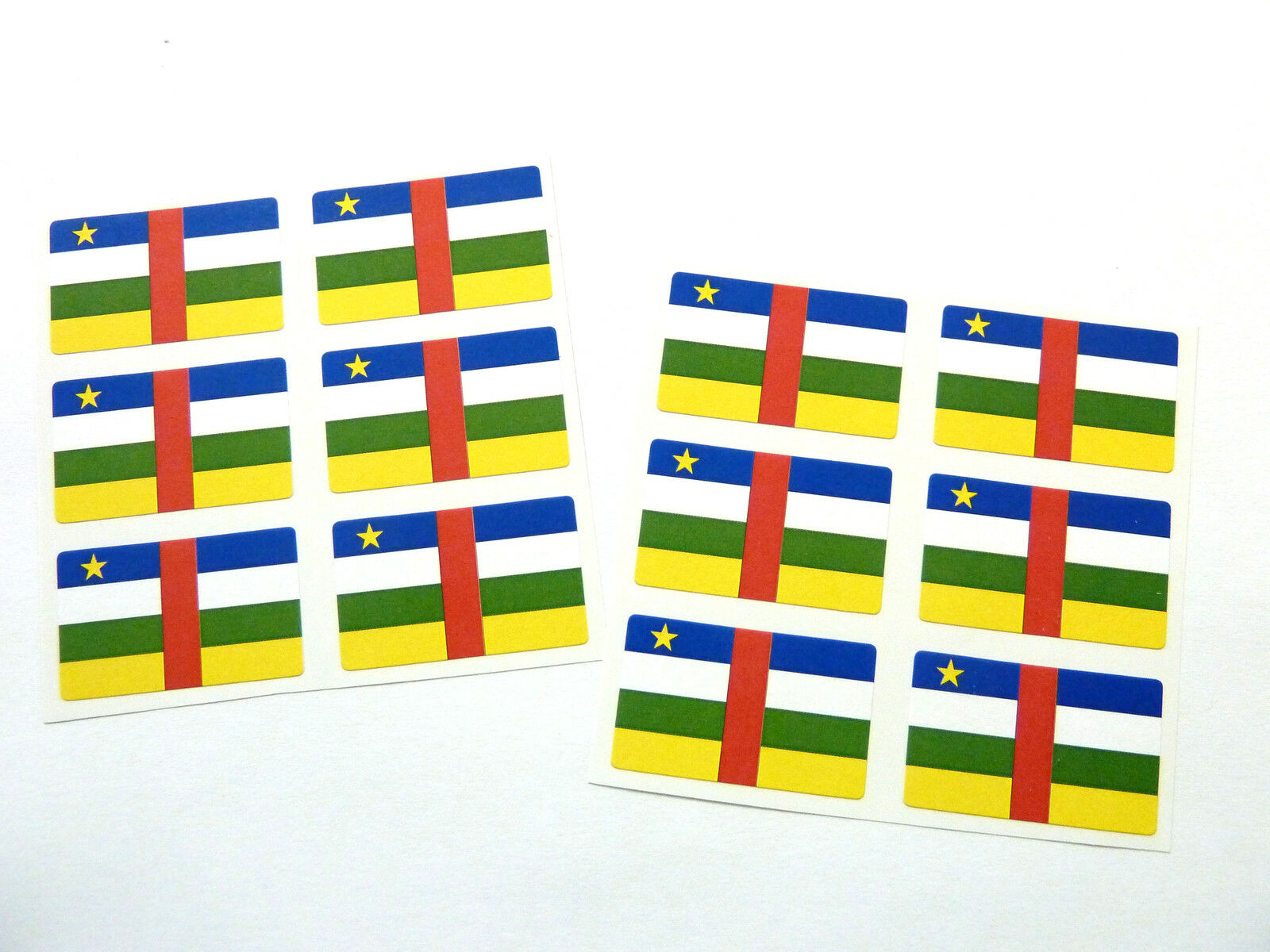 FR278 Self-Adhesive Catalonia Catalunya Catalan Flag Labels Mini Sticker Pack