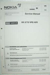 B2515 Service Manual AnpassungsfäHig Nokia Schaltbilder Vr 3770 Vps Hifi