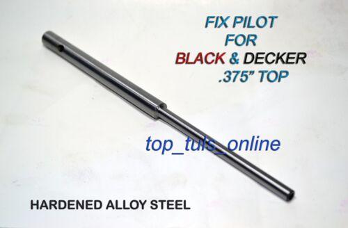 "0.3125/"" Black /& Decker Valve Guide Fix Pilot 5//16/"" Stem 0.375/"" Top Hardend"