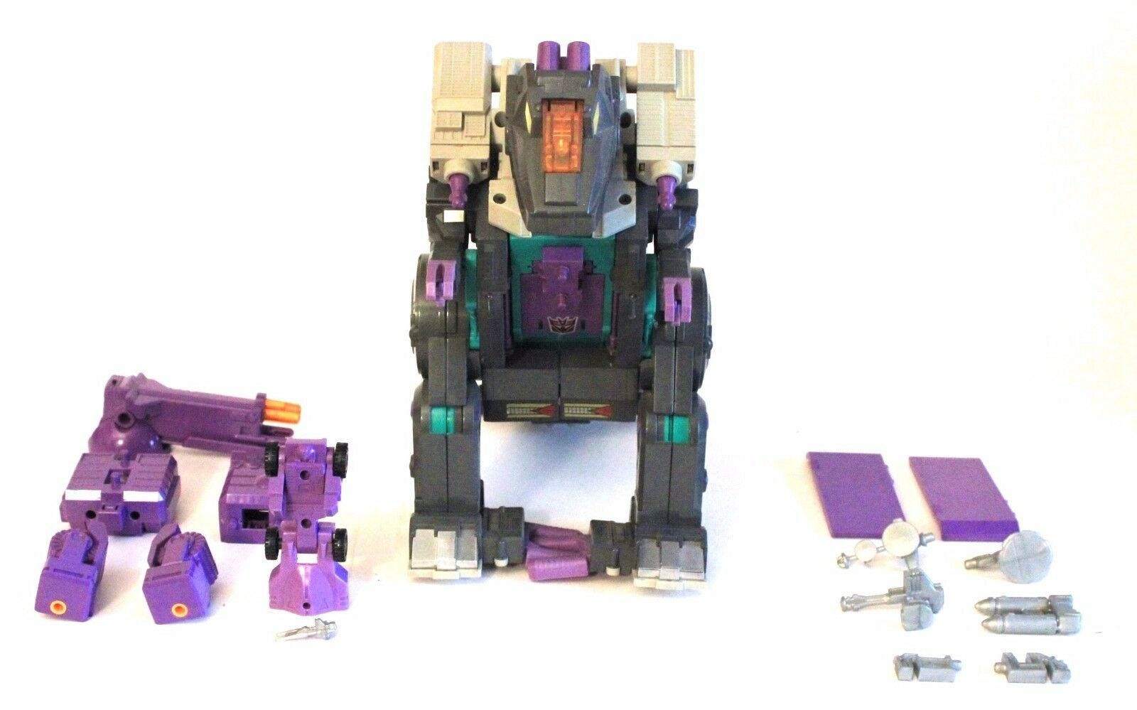 1986 Vintage Hasbro Transformers TRYPTICON action figure almost complete GD cond