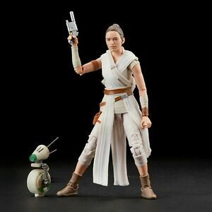 Star-Wars-Black-Series-Rise-Of-Skywalker-Rey-amp-D-0-6-Inch-Action-Figure