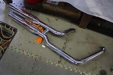 Harley Softail exhaust pipes mufflers mount bracket FLSTF Fatboy ? EPS20986