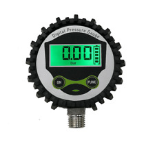 Digital Gas Pressure Gauge With Bottom Connector Amp Rubber Protector Accurate