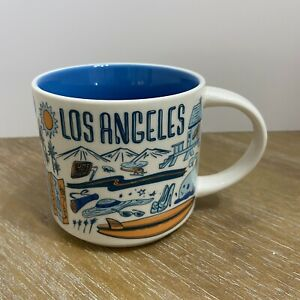 Starbucks Los Angeles Been There Series 14oz Mug 1st Version City Of The Angels