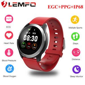LEMFO-Z03-Reloj-Inteligente-Pulsera-inteligente-ECG-PPG-IP68-Para-Android-IOS