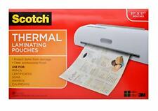 Used Thermal Laminating Pouches Tlp 1145 X 1748 Inches Brand Z