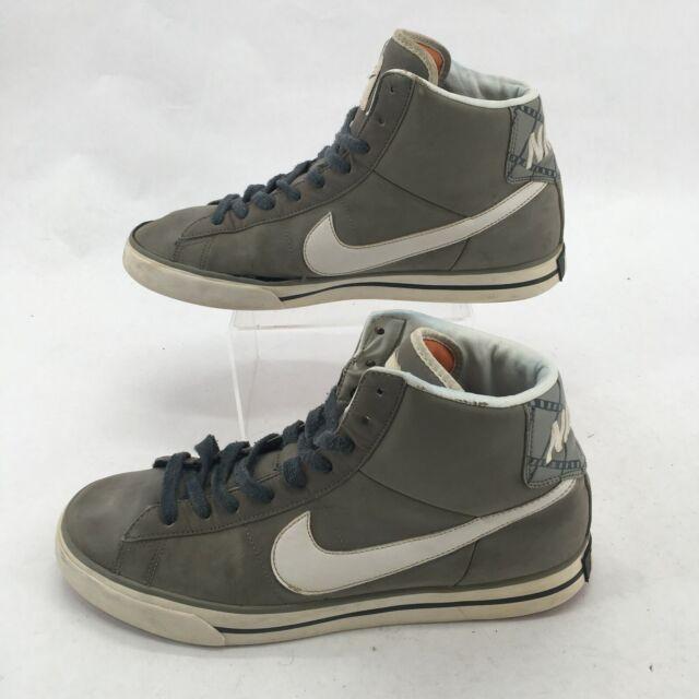 Comprensión grabadora pared  Nike Sweet Classic Leather Sz 10.5 Mens Urban Skate Shoes White/medium Grey  for sale online   eBay