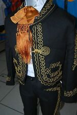 Mexican Charro and Mariachi Gold Bow Tie Child Size Moño Charro/Mariachi