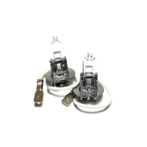 55w Claro Halógeno estándar Xenon HID Bombillas Luz Antiniebla Delantera Par
