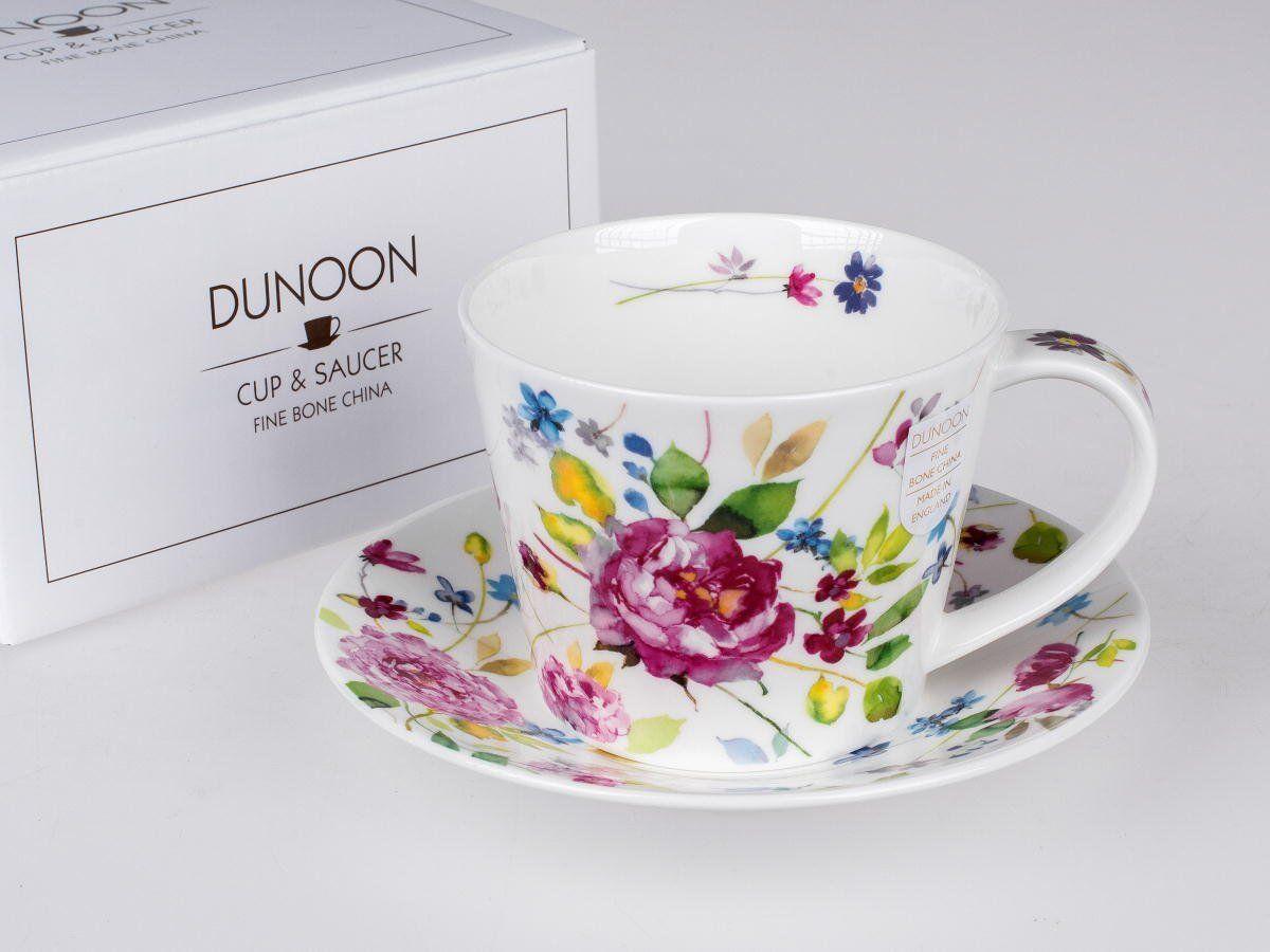 Dunoon Tasse Islay Wild Garden pink