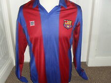 BARCELONA 1984 - 89 Home  shirt Long Sleeves