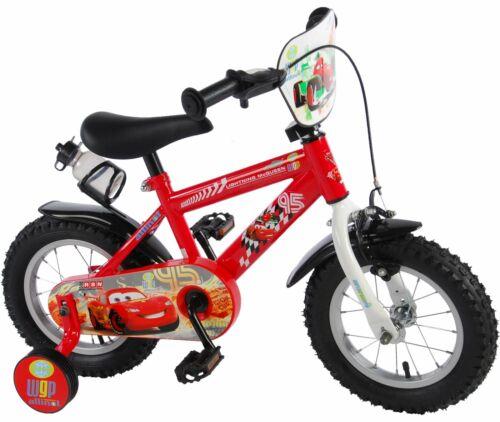 Disney Cars Fahrrad 12 Zoll Kinderfahrrad mit Stützräder McQueen Jungenfahrrad